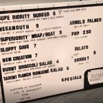 Superiority Burger Menu